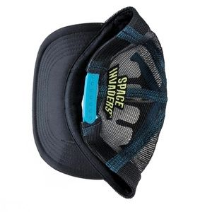 Accessories - Space Invaders Snapback Trucker Hat OSFM